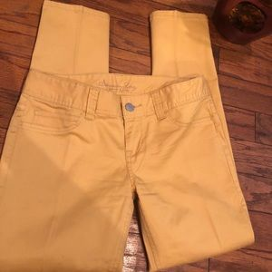 American Rag honey mustard pants